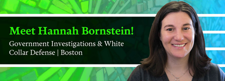 Hannah Bornstein - Government Investigations & White Collar Defense - Nixon Peabody LLP